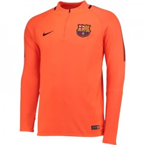 Barcelona Squad Drill Top – Orange – Kids All items