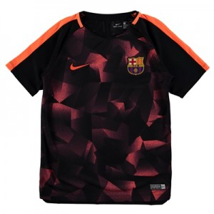 Barcelona Squad Pre Match Top – Black – Kids All items