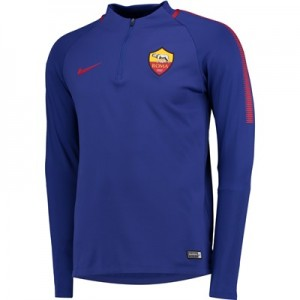 AS Roma Squad Drill Top – Royal Blue All items
