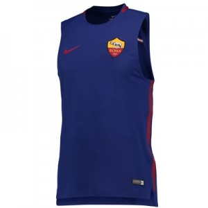 AS Roma Squad Sleeveless Training Top – Royal Blue All items