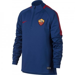 AS Roma Squad Drill Top – Royal Blue – Kids All items