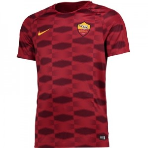 AS Roma Squad Pre Match Top – Red – Kids All items