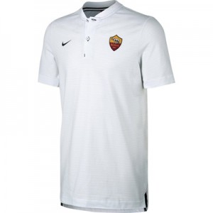 AS Roma Authentic Grand Slam Polo – White All items