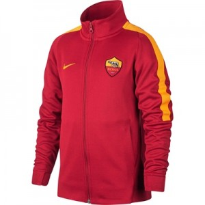 AS Roma Authentic Franchise Jacket – Red – Kids All items