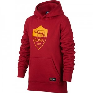 AS Roma Core Hoodie – Red – Kids All items