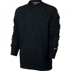 AS Roma Authentic Crew Sweatshirt – Black All items
