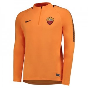 AS Roma Squad Drill Top – Orange All items