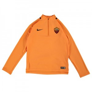 AS Roma Squad Drill Top – Orange – Kids All items