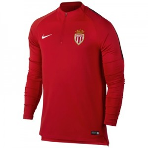 AS Monaco Squad Drill Top – Red All items