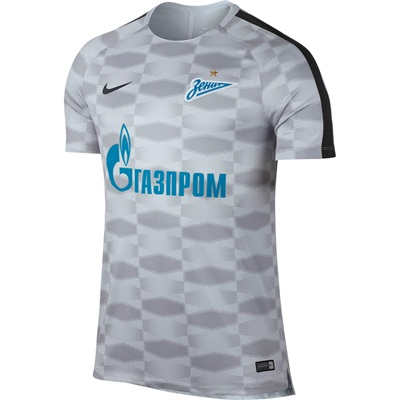 Zenit St. Petersburg Squad Pre Match Top – White All items