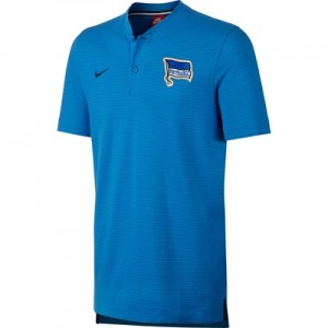 Hertha Berlin Authentic Grand Slam Polo – Blue All items