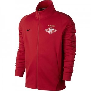 Spartak Moscow Authentic Franchise Jacket – Red All items
