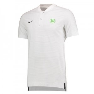 VfL Wolfsburg Authentic Grand Slam Polo – White All items