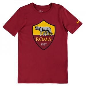 AS Roma Ever Green T-Shirt – Red – Kids All items