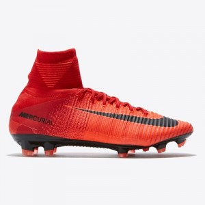 Nike Mercurial Superfly V Firm Ground Football Boots – Red All items
