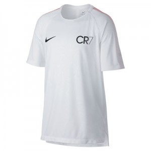 Nike CR7 Dry Squad Training Top – White/Blue Tint/Black – Kids All items