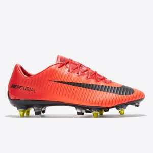 Nike Mercurial Vapor XI Anti-Clog Soft Ground Pro Football Boots – Red All items