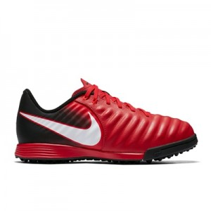 Nike Tiempo Ligera IV Astroturf Trainers – Red – Kids All items