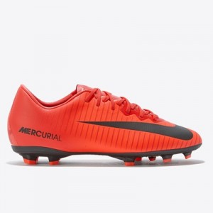 Nike Mercurial Vapor XI Firm Ground Football Boots – Red – Kids All items