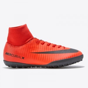 Nike Mercurial Victory VI Dynamic Fit Astroturf Trainers – Red – Kids All items
