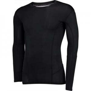 Aston Villa HeatGear Warp Sonic Baselayer Top – Long Sleeve – Black All items