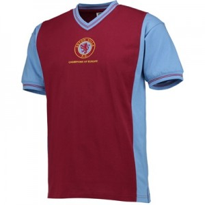 Aston Villa 1982 European Cup Winners Shirt Aston Villa