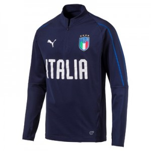 Italy Training 1/4 Zip Top – Navy All items