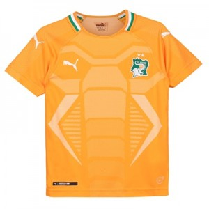 Ivory Coast Home Shirt 2018 – Kids T-shirts