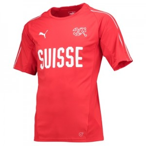 Switzerland Training Jersey – Red All items