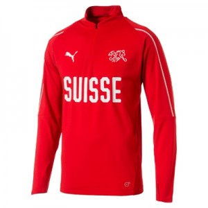 Switzerland Training 1/4 Zip Top – Red All items