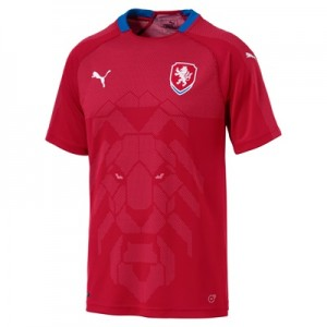 Czech Republic Home Shirt 2018 T-shirts
