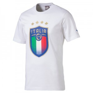 Italy Badge T-Shirt – White T-shirts