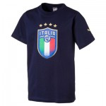 Italy Badge T-Shirt – Blue – Kids T-shirts