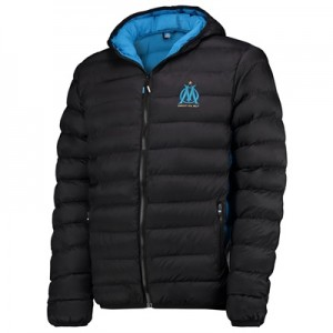 Olympique de Marseille Padded Jacket – Black – Mens Clothing