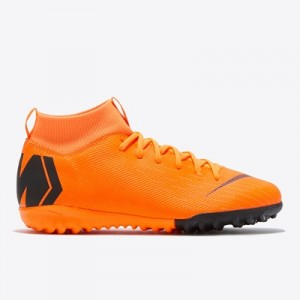 Nike Mercurial SuperflyX 6 Academy Astroturf Trainers – Orange – Kids All items