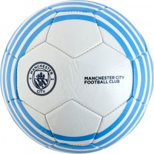 Manchester City Size 2 Football – White All items