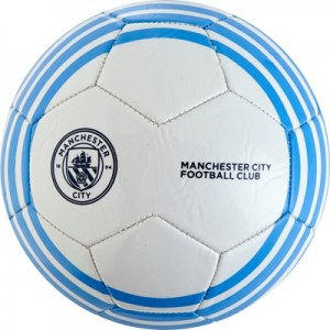 Manchester City Size 5 Football – White All items