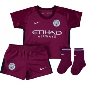 Manchester City Away Stadium Kit 2017-18 – Infants All items