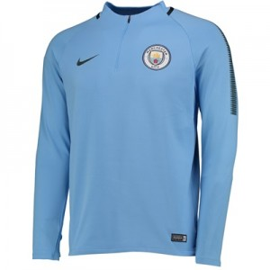 Manchester City Squad Drill Top – Light Blue All items