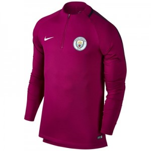 Manchester City Squad Drill Top – Maroon All items