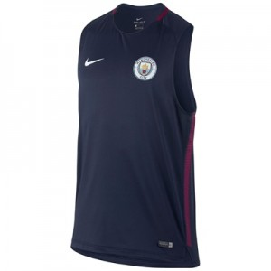 Manchester City Squad Training Sleeveless Top – Navy All items