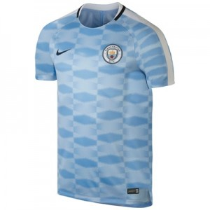 Manchester City Squad Pre-Match Training Top – Light Blue All items