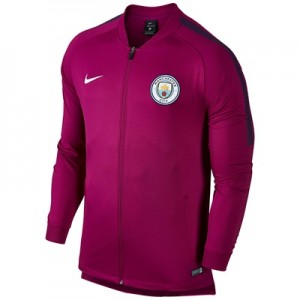 Manchester City Squad Track Jacket – Maroon All items