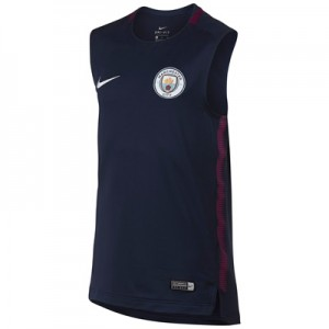 Manchester City Squad Training Sleeveless Top – Navy – Kids All items
