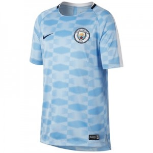 Manchester City Squad Pre-Match Training Top – Light Blue – Kids All items