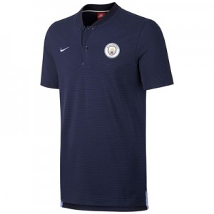 Manchester City Authentic Grand Slam Polo – Navy All items