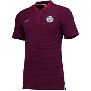 Manchester City Authentic Grand Slam Polo – Maroon All items