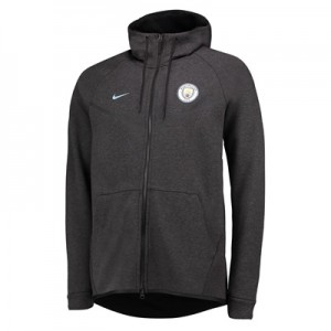 Manchester City Authentic Tech Fleece Windrunner – Black All items