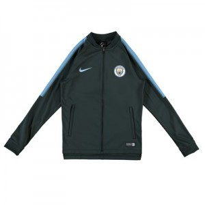 Manchester City Squad Knit Tracksuit – Green – Kids All items