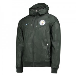 Manchester City Authentic Windrunner – Green All items